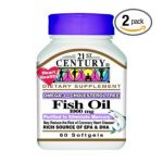 21st Century -  Fish Oil Softgels 1000 Mg,2 count 0740985214954