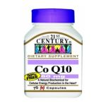21st Century -  Coenzyme Q10 60 mg,1 count 0740985218006