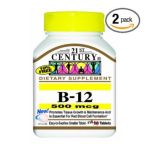 21st Century -  Vitamin B-12,2 count 0740985223093