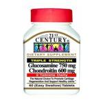 21st Century -   None Glucosamine & Chondroitin 60 tablet 0740985224762 UPC 74098522476