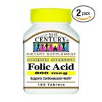 21st Century -  Folic Acid 180 tablet 0740985225639