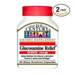 21st Century -  Glucosamine Relief 60 Easy To Swallow Capsules 500 Mg, 60 capsule,1 count 0740985225646