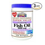 21st Century -   None Omega-3 Fish Oil,300 count 0740985229217 UPC 74098522921