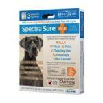 Durvet -  Spectra Sure Dog Flea Treatment Dog Size 89 132 lb 0745801011502