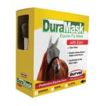 Durvet -  Flyrid Duramask V Horse Fly Mask Size Horse With Ears 0745801600201