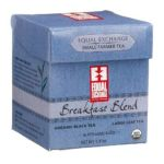 Equal Exchange -  Organic Fair Trade Breakfast Blend Large Leaf Black Tea 0745998500322
