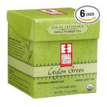 Equal Exchange -  Organic Fair Trade Ceylon Green Large Leaf Green Tea 0745998500339