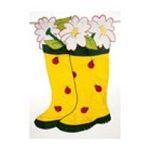 Evergreen Group -  Garden Boots Flag (Garden Size) 0746851465475