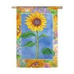 Evergreen Group -  Bold Sunflower Flag (Regular Size) 0746851541186