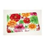 Evergreen Group -  Floral Splash Large Glass Cutting Board 0746851557569