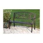 Evergreen Group -  Metal Garden Bench 0746851586491