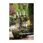 Evergreen Group -  Teal Cylinder Rings Candle Holders 0746851586804