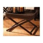 Evergreen Group -  Hapao Coffee Table w/ Rattan Tray 0746851588556