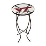 Evergreen Group -  Virginia Tech Glass Table 0746851621673