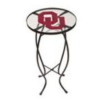 Evergreen Group -  University of Oklahoma Glass Table 0746851621871