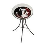 Evergreen Group -  Florida State University Glass Birdbath 0746851621963