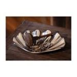 Evergreen Group -  Recycled Aluminum Decorative Scallop Shell Dish 0746851642609