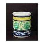 Evergreen Group -  Bird Collage Ceramic Utensil Crock 0746851668876