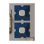 Evergreen Group -  Blue Wooden Wall Mirrors  2 Asst. 0746851681721