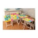 Evergreen Group -  Set of Four TV Tray Tables 0746851766336