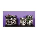 Evergreen Group -  Zebra Print Magazine Holder and Frames 0746851766350