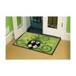 Evergreen Group -  Pineapple Design Bamboo Rug 0746851767159