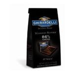 Ghirardelli -  Chocolate Intense Dark Squares Midnight Reverie 86% Cacao Bags 0747599308949