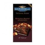 Ghirardelli -  Ghiradelli Intense Dark Hazelnut Heaven All Natural Dark Chocolate 0747599611742