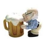 Westland Giftware -  Coot & Beer Salt & Pepper Shakers Set 0748787126901