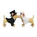 Westland Giftware -  Bride & Groom Chihuahua Dog Salt & Pepper S/P Set 0748787133534