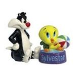 Westland Giftware -  Looney Tunes Tweety & Sylvester s/p Salt Pepper Shakers 0748787138911
