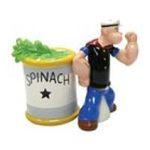 Westland Giftware -  Popeye & Spinach Salt & Pepper Shaker S/P 0748787151262
