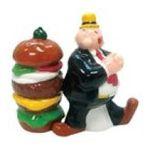 Westland Giftware -  Wimpy & Hamburger Salt & Pepper Shaker S/P 0748787151309