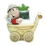 Westland Giftware -  Sweet Pea & Stroller Salt & Pepper Shaker S/P 0748787151316