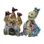 Westland Giftware -  Dragon Heart Castle Salt & Pepper Shakers 0748787154324