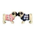 Westland Giftware -  Argyle Sweater Pug Dogs Pup Salt & Pepper Shaker S/P 0748787161421