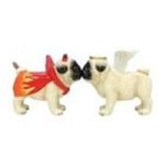 Westland Giftware -  Angel & Devil Pug Dogs Salt & Pepper Shaker S/P Set 0748787161438