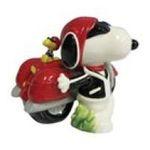 Westland Giftware -  Peanuts SNOOPY Joe Cool Motorcyle Salt & Pepper Shakers 0748787182754