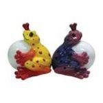 Westland Giftware -  Sitting Couple Bullfrog Frogs Salt & Pepper Shaker 0748787188336
