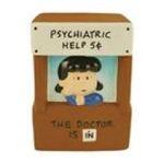 Westland Giftware -  Peanuts Cookie Jar Lucys Psychiatrist Style 0748787207624