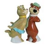 Westland Giftware -  Yogi Bear and Cindy Salt and Pepper Shaker Set 0748787226014
