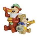 Westland Giftware -  Yogi Bear and Boo-Boo Eating Salt and Pepper Shaker Set 0748787226021