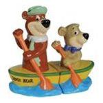 Westland Giftware -  Yogi Bear and Boo-Boo Canoe Salt and Pepper Shaker Set 0748787226038
