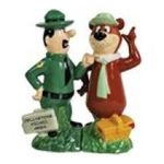 Westland Giftware -  Yogi Bear and Ranger Smith Salt and Pepper Shaker Set 0748787226045