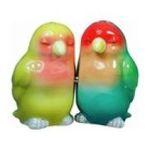 Westland Giftware -  Tropical Couple Lovebirds Salt & Pepper ShakeR S/P 0748787934070