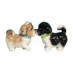 Westland Giftware -  KISSING SHIH TZU Dogs Salt & Pepper Shakers New Gift 0748787934452