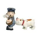 Westland Giftware -  MAILMAN Postman & DOG Salt & Pepper Shakers New Gift 0748787934537