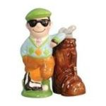 Westland Giftware -  Golfer Golf Club Hole in One Salt Pepper Shaker S/P 0748787934612