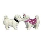 Westland Giftware -  Maltese Dog Pup S/P Salt & Pepper Shakers 0748787939020