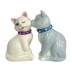 Westland Giftware -  White & Gray Cats Kittens S/P Salt & Pepper Shaker Set 0748787939198